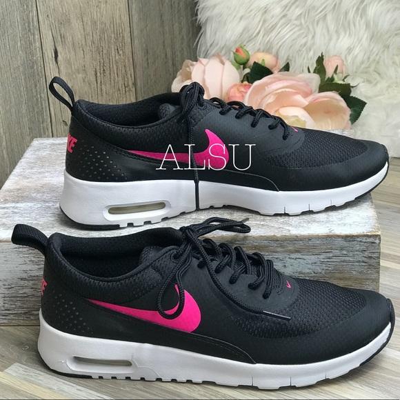 f2e8619b76 Nike Shoes   Air Max Thea Gs Black Hyper Pink W Authentic   Poshmark